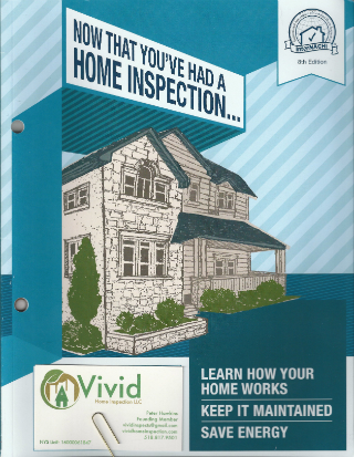 Home Maintenance Book from Vivid Home Inspection LLC